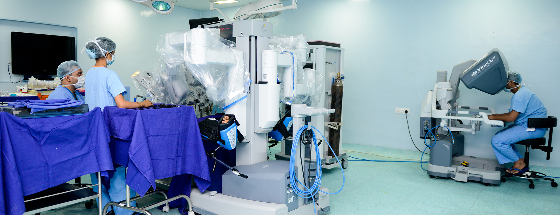 Robotic-Assisted Paediatric Surgery