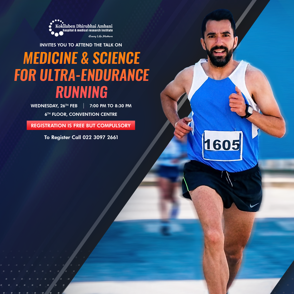 Talk on Medicine and Science for Ultra-endurance Running