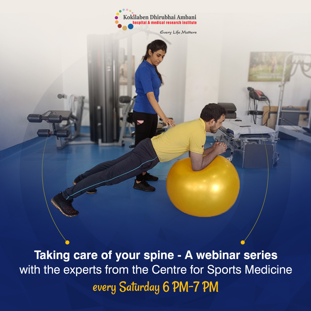 Taking Care of your Spine: A Webinar Series