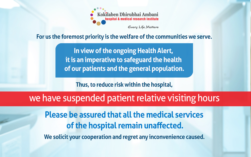 KDAH suspends visiting hours