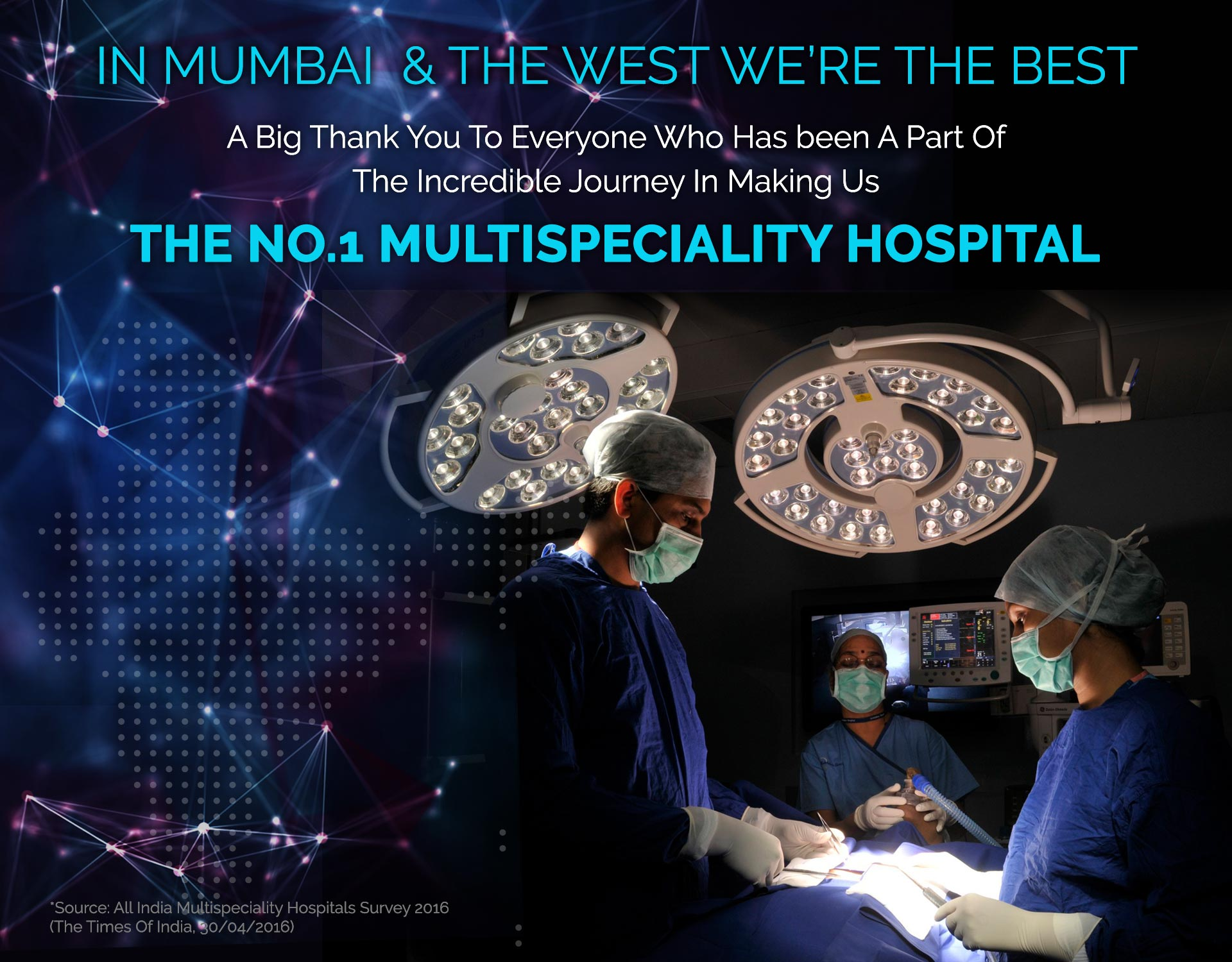 The No.1 Multispeciality Hospital