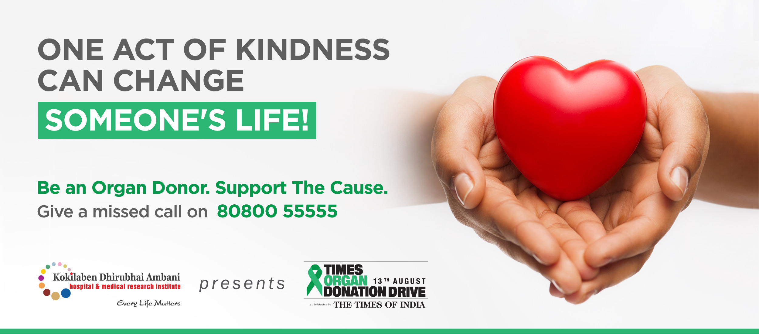 Kokilaben Dhirubhai Ambani Hospital - Be an Organ Donor. Support The Cause