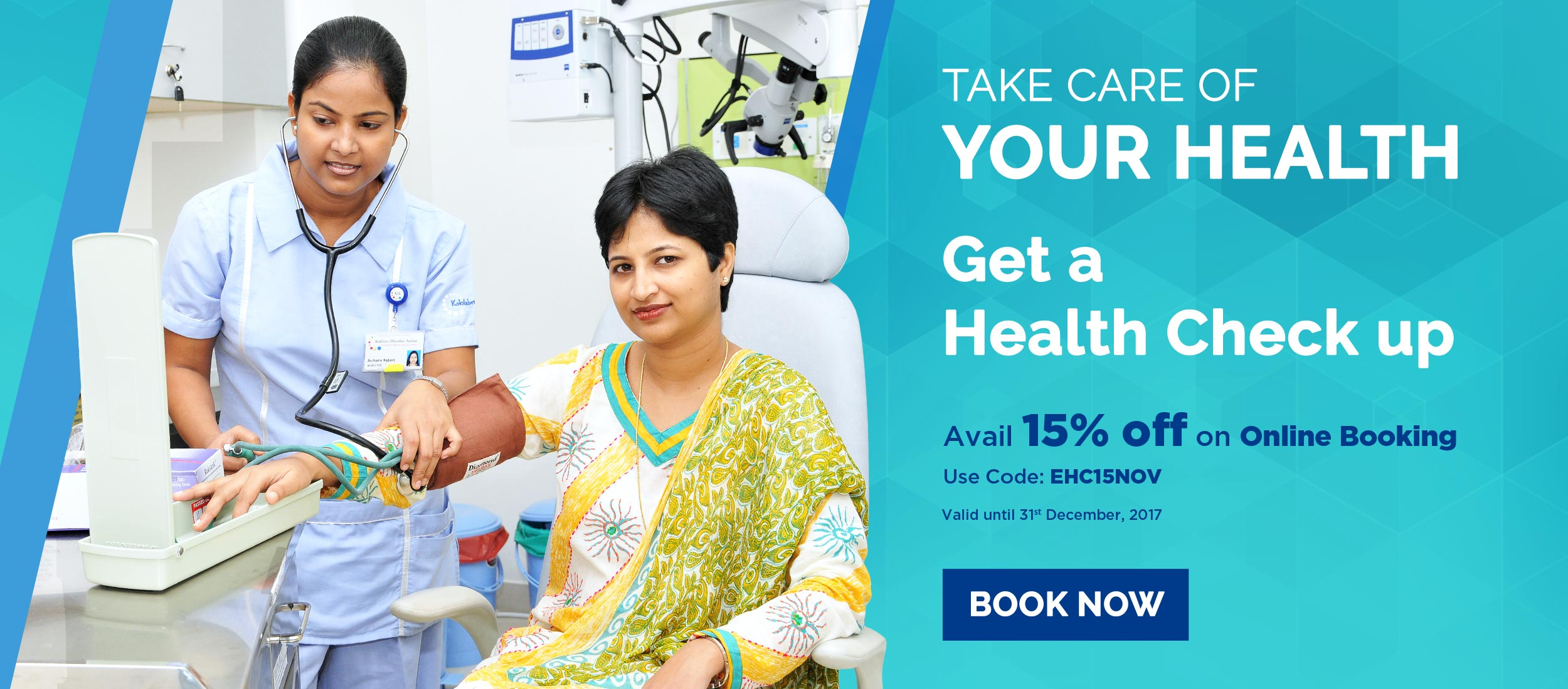 Kokilaben Dhirubhai Ambani Hospital - Health Checkups In India