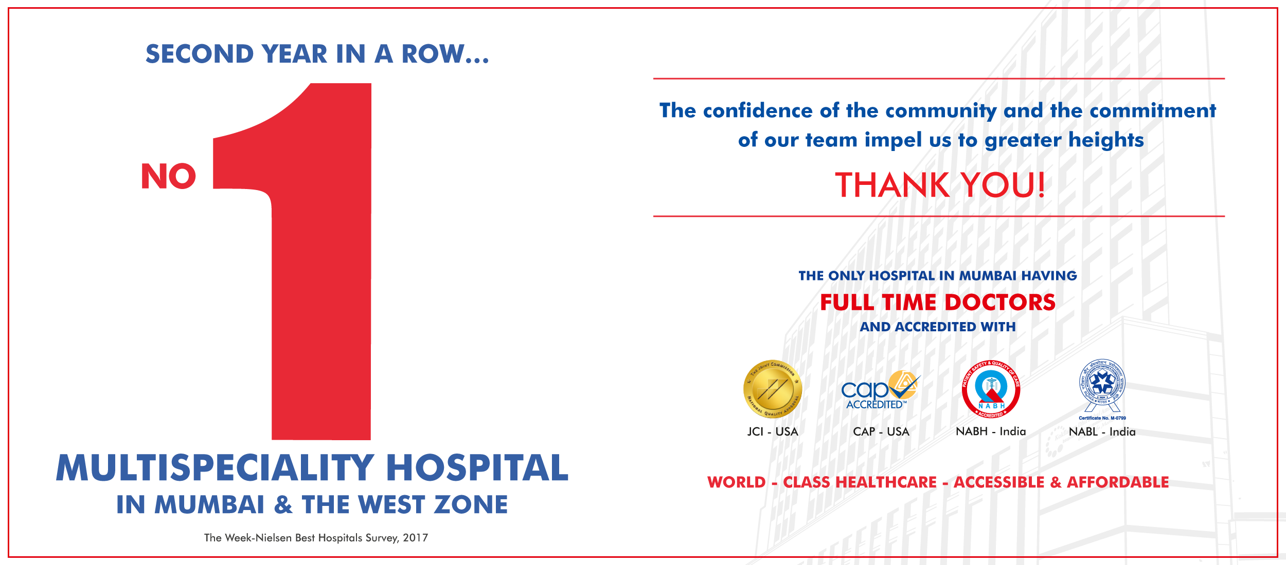 Kokilaben Dhirubhai Ambani Hospital - Multispeciality Hospital In Mumbai & The West Zone