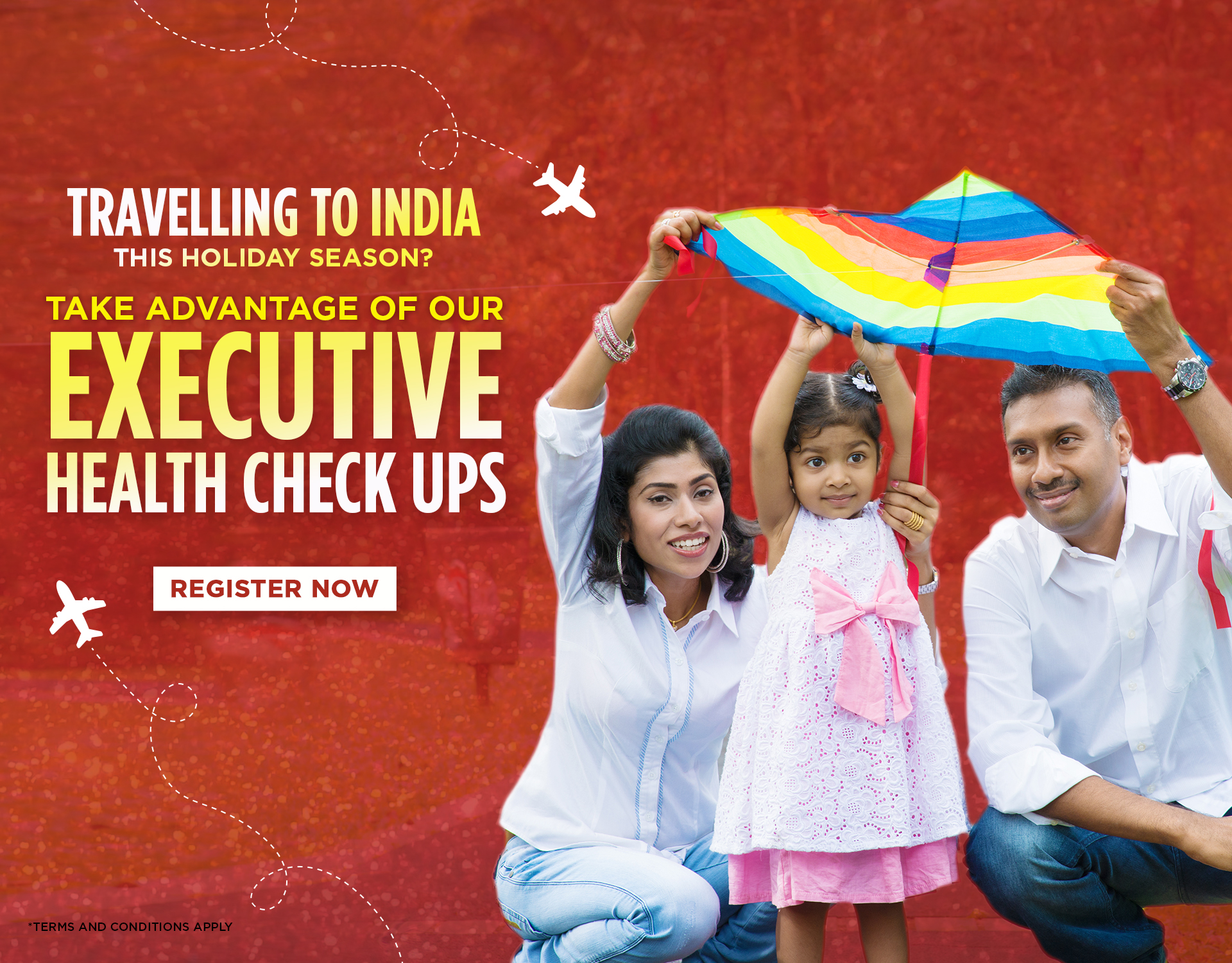 Kokilaben Dhirubhai Ambani Hospital - Travelling to India this Holiday Season?