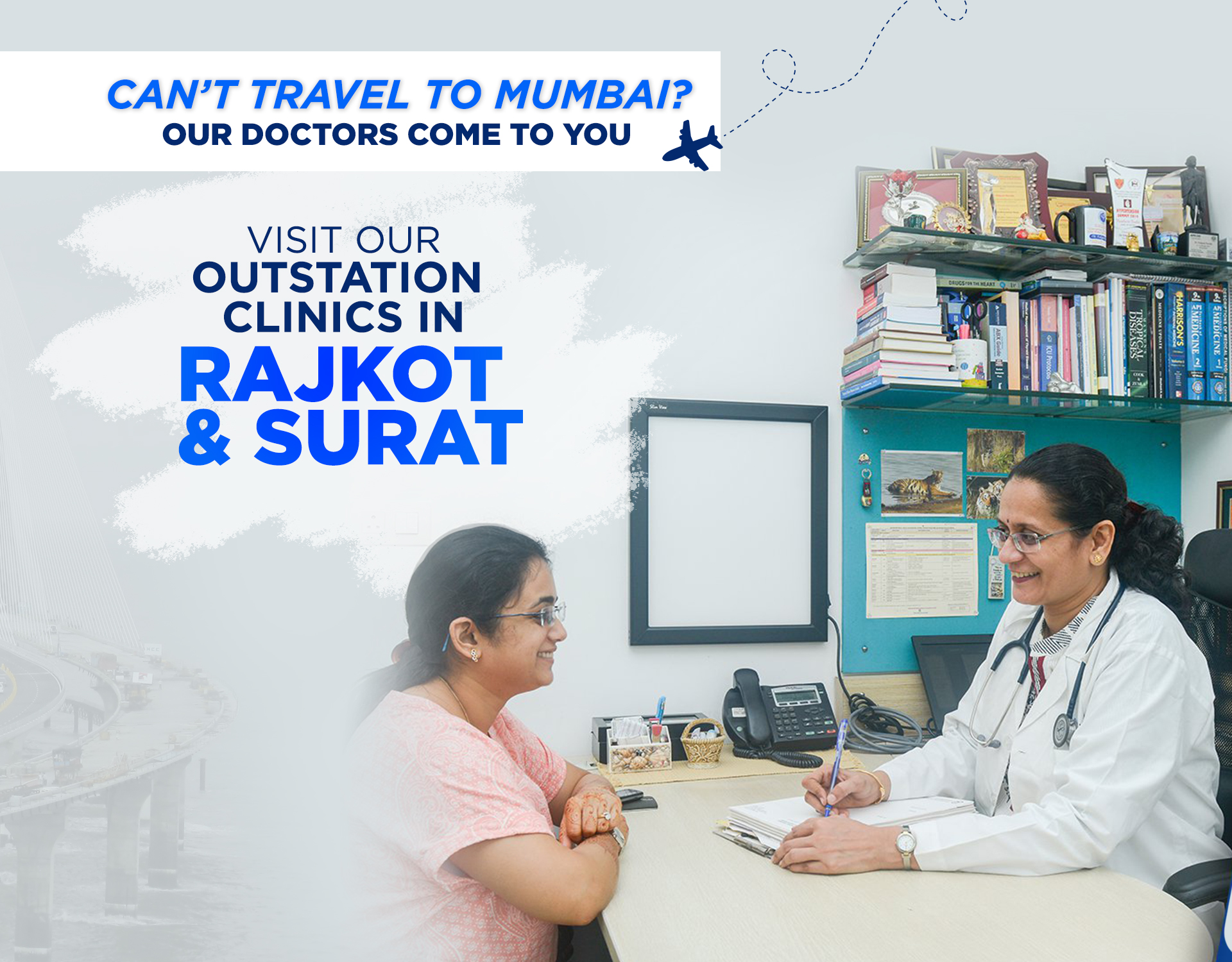 Kokilaben Dhirubhai Ambani Hospital - Visit Our Out Station Clinics In Rajkot & Surat