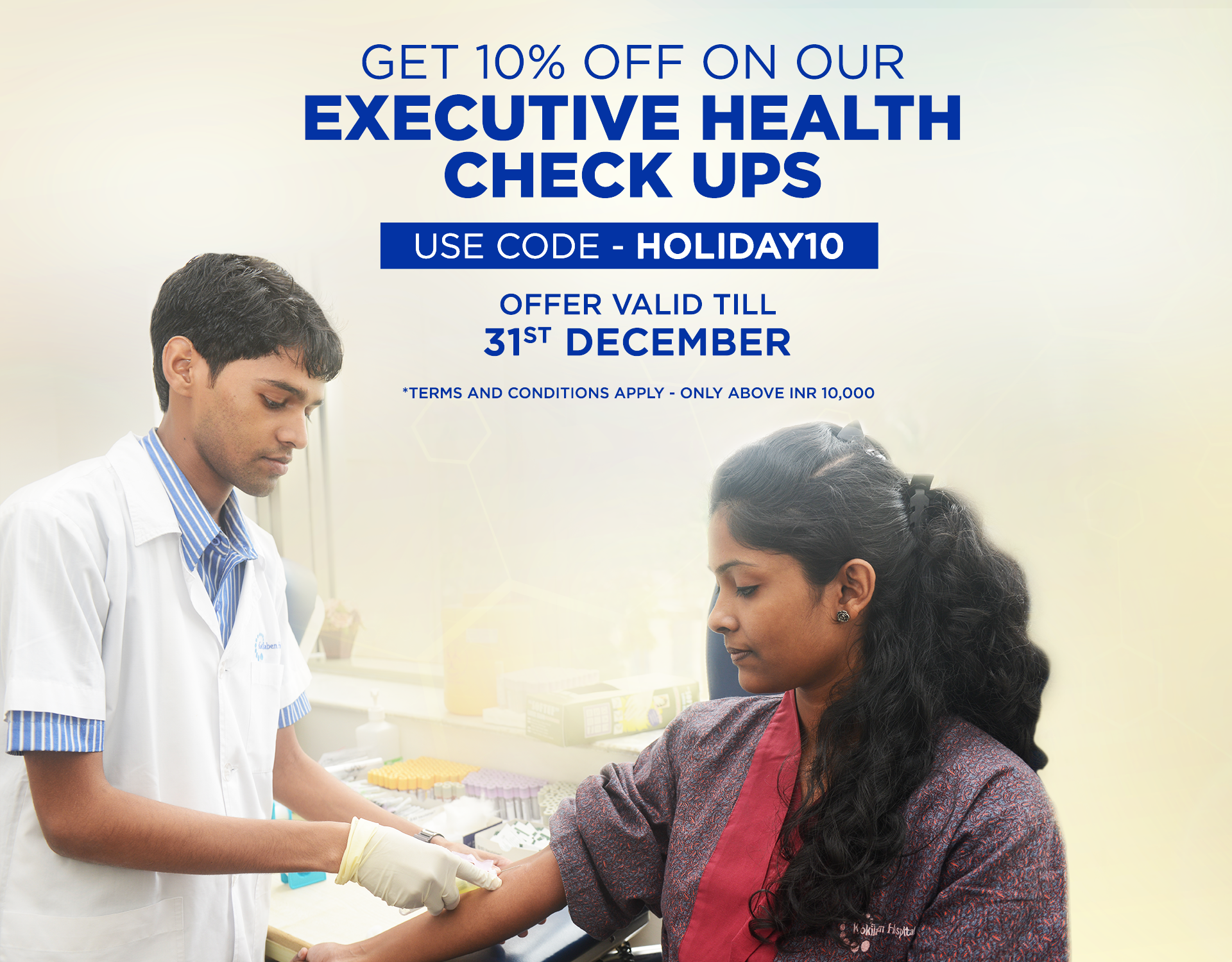 Kokilaben Dhirubhai Ambani Hospital - Executive Health Check Ups