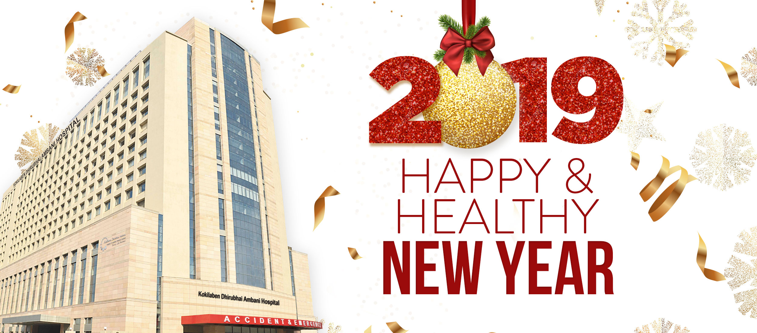 Kokilaben Dhirubhai Ambani Hospital - 2019 Happy & Healthy New Year