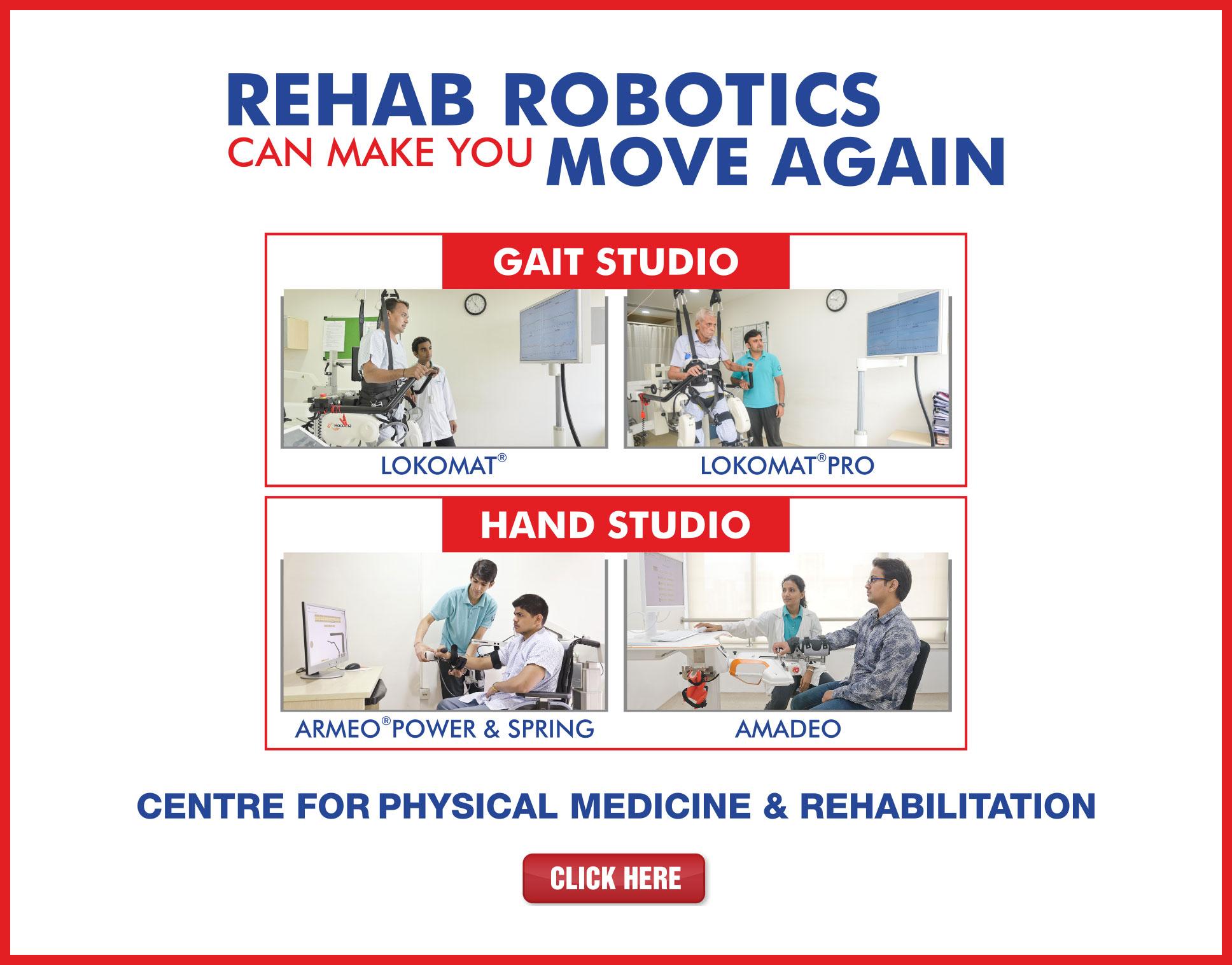Kokilaben Dhirubhai Ambani Hospital - Rehab Robotics