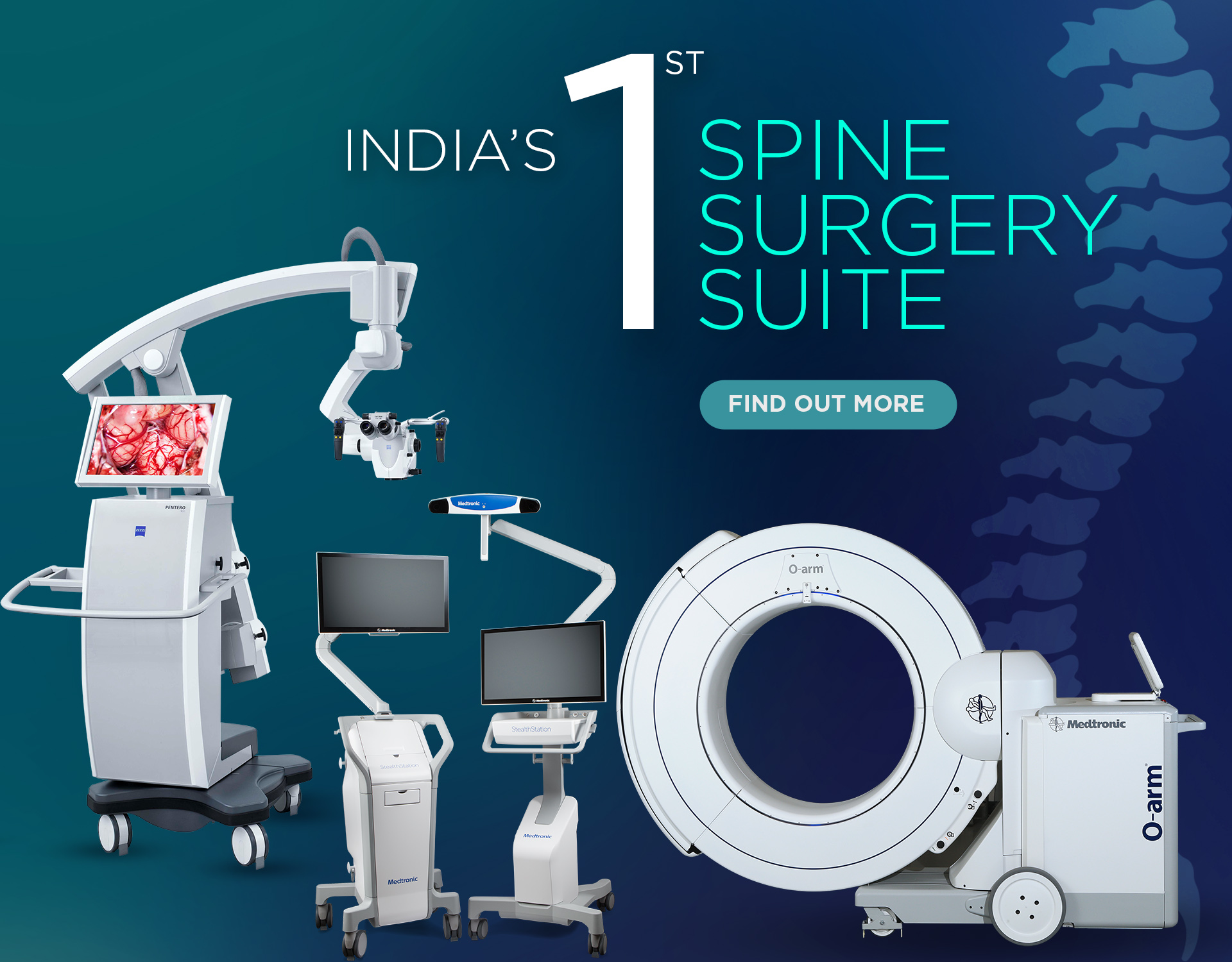 Kokilaben Dhirubhai Ambani Hospital - India's First Spine Surgery Suite