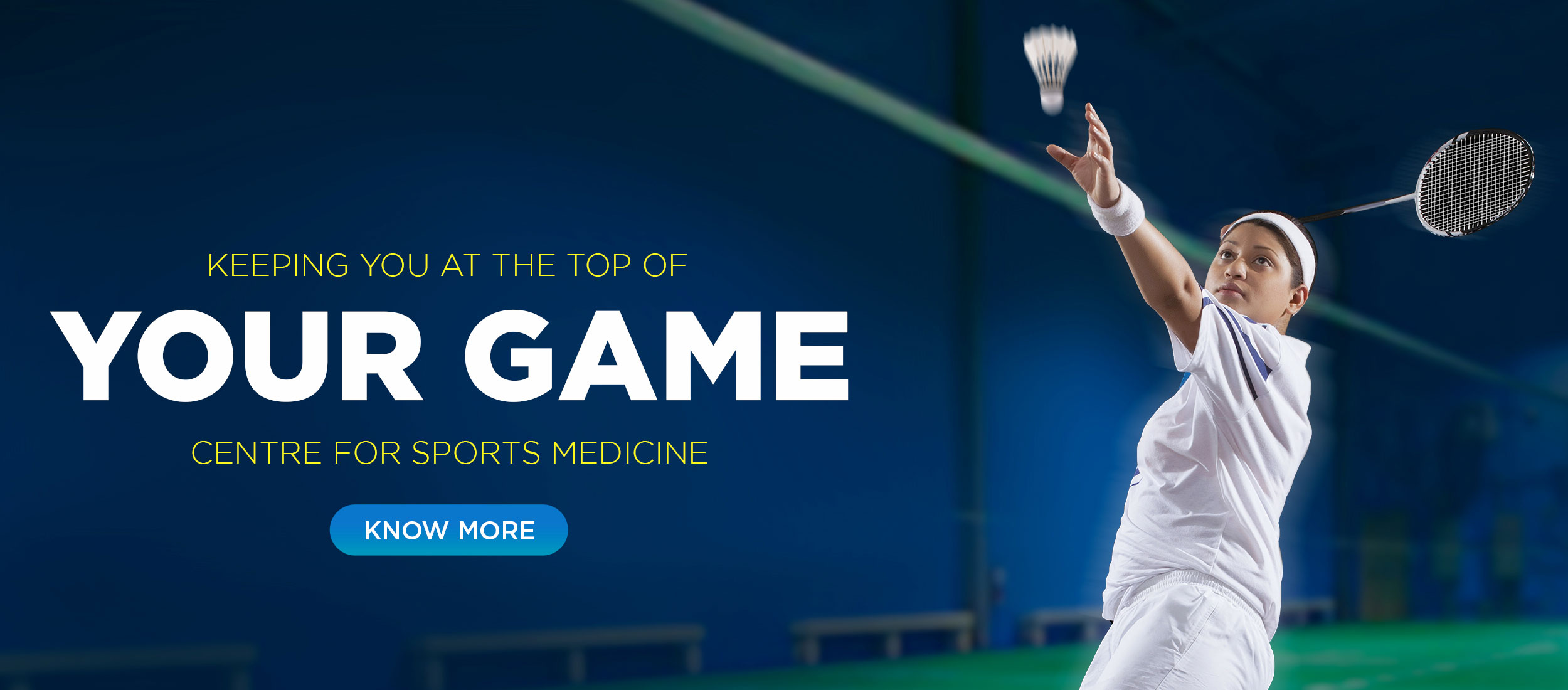 Kokilaben Dhirubhai Ambani Hospital - Keeping You At The Top Of Your Game Centre For Sports Medicine