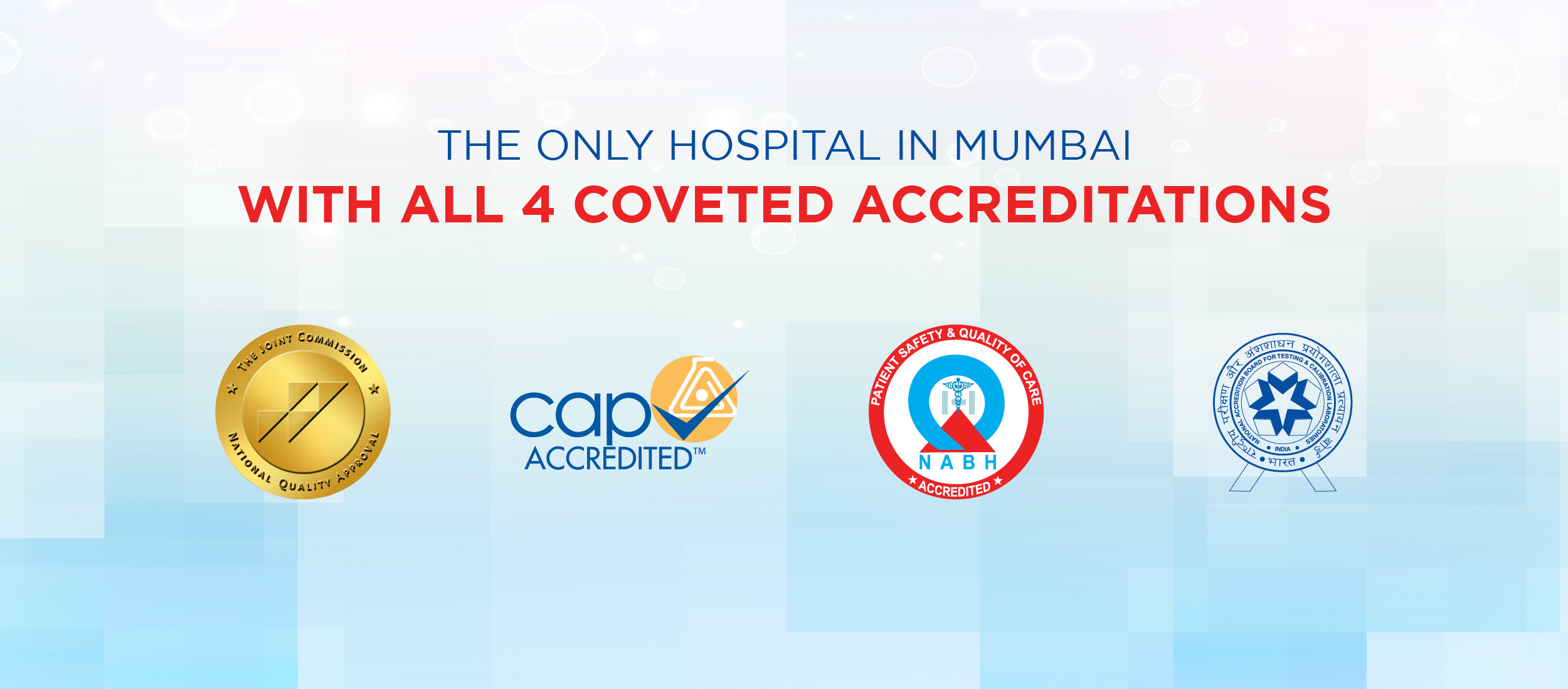 KDAH Is Only Hospital In Mumbai - With All 4 Coveted Accreditations
