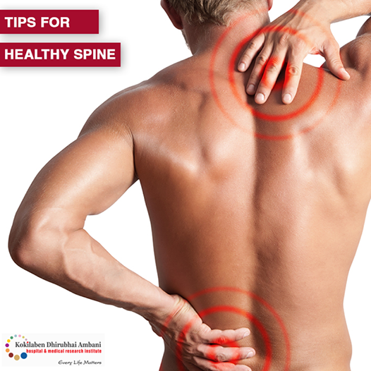 Tips for healthy spine