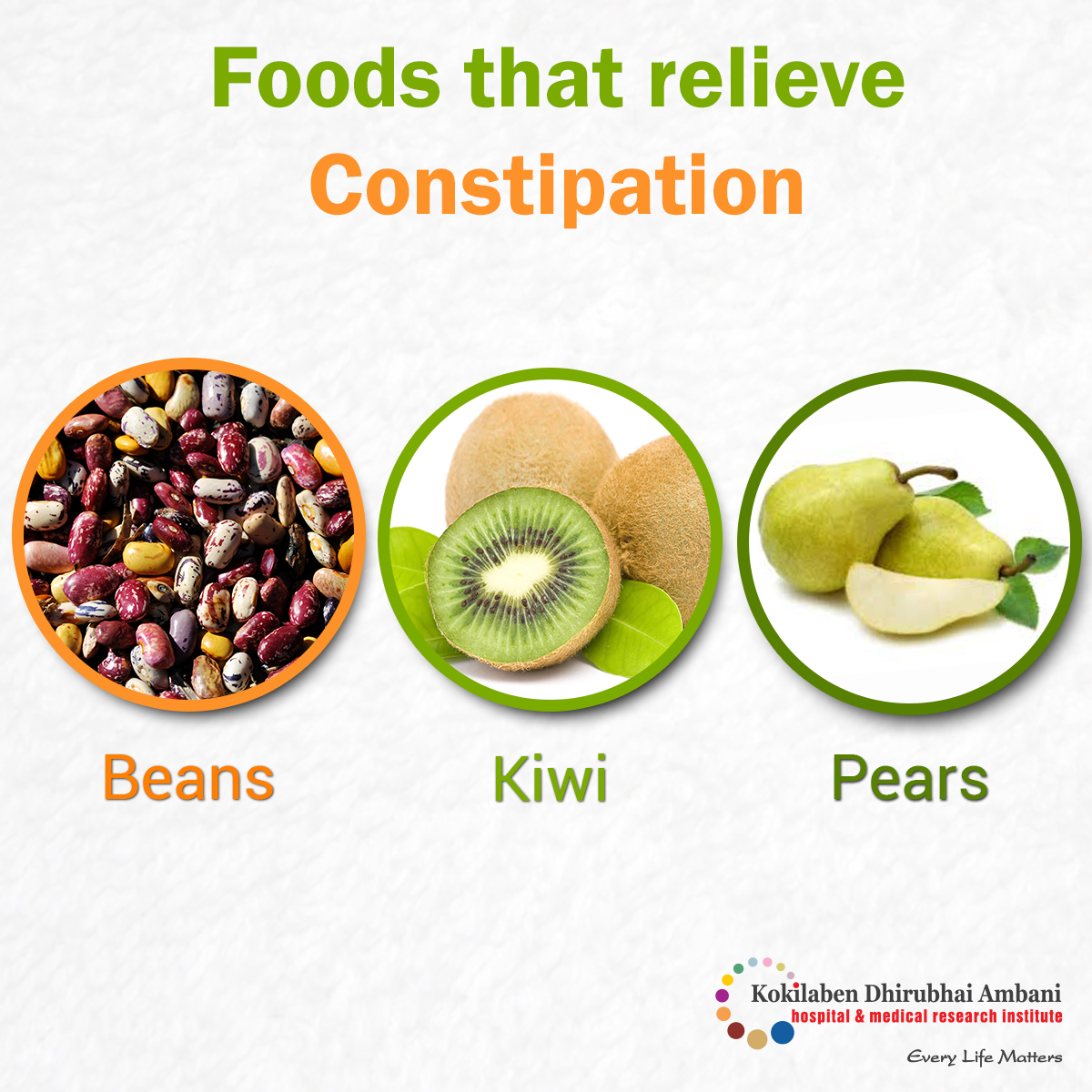 Eat well to beat constipation