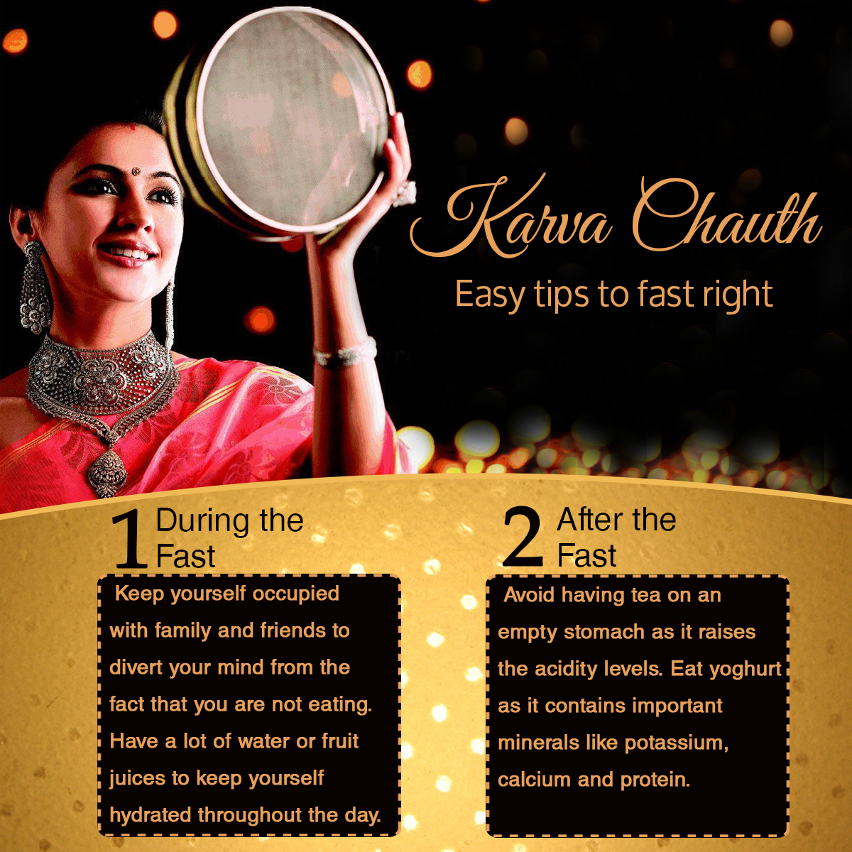 Karva Chauth: Easy tips to fast right
