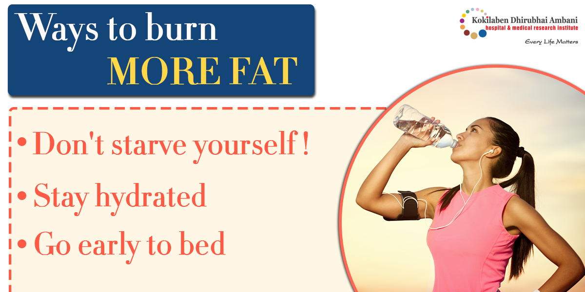 Ways to burn more fat