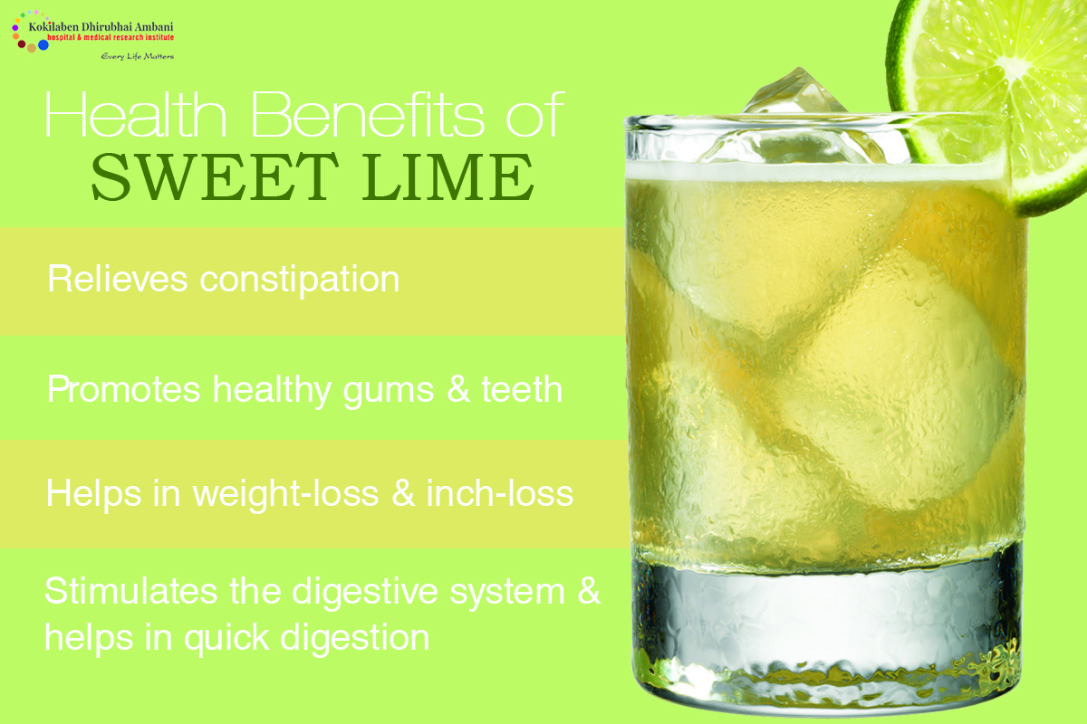 Health Benefits of Sweet Lime