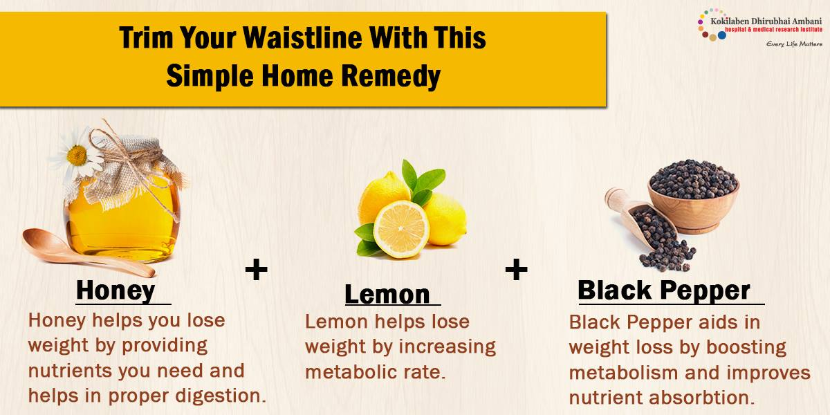 Trim your waist line with this simple home remedy