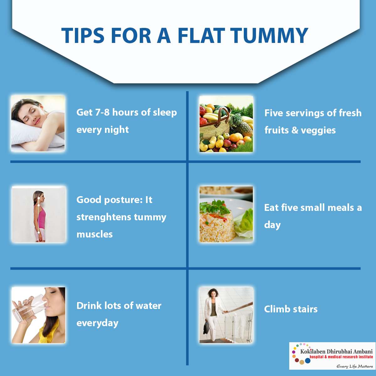 Simple tips to attain a flat tummy