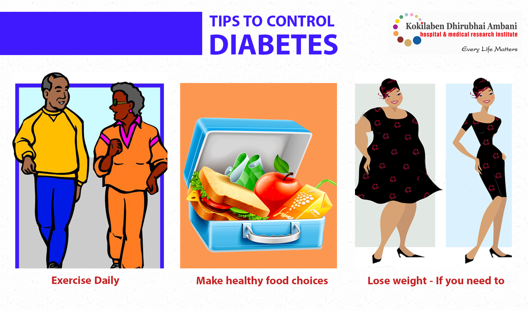 Tips to control Diabetes