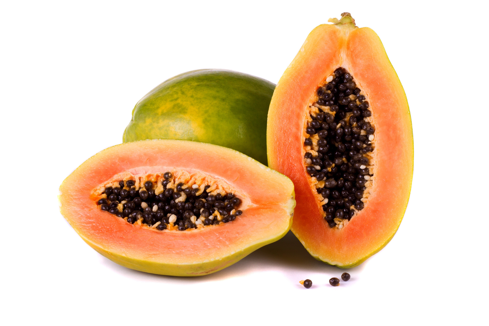 Papayas control the bowel movements!