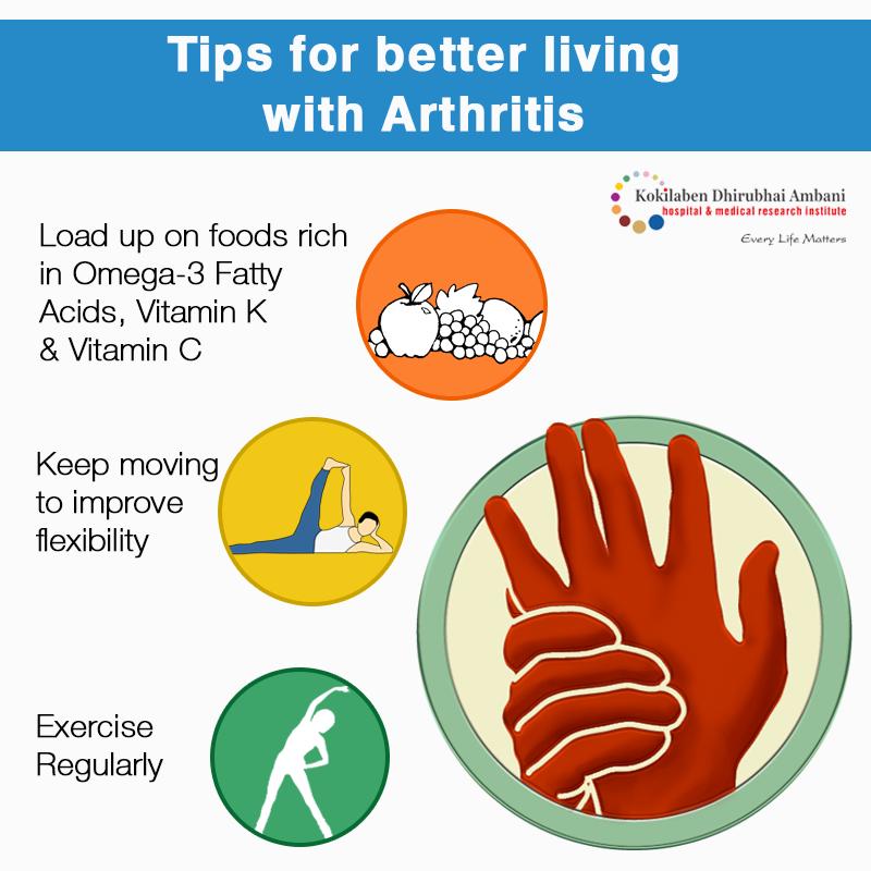Tips for better living with Arthritis