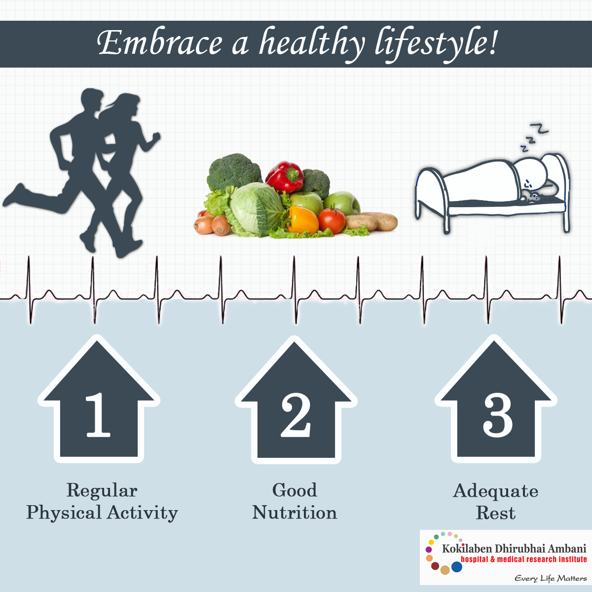 Embrace a healthy lifestyle!