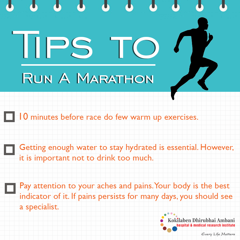 Some useful tips for running marathon