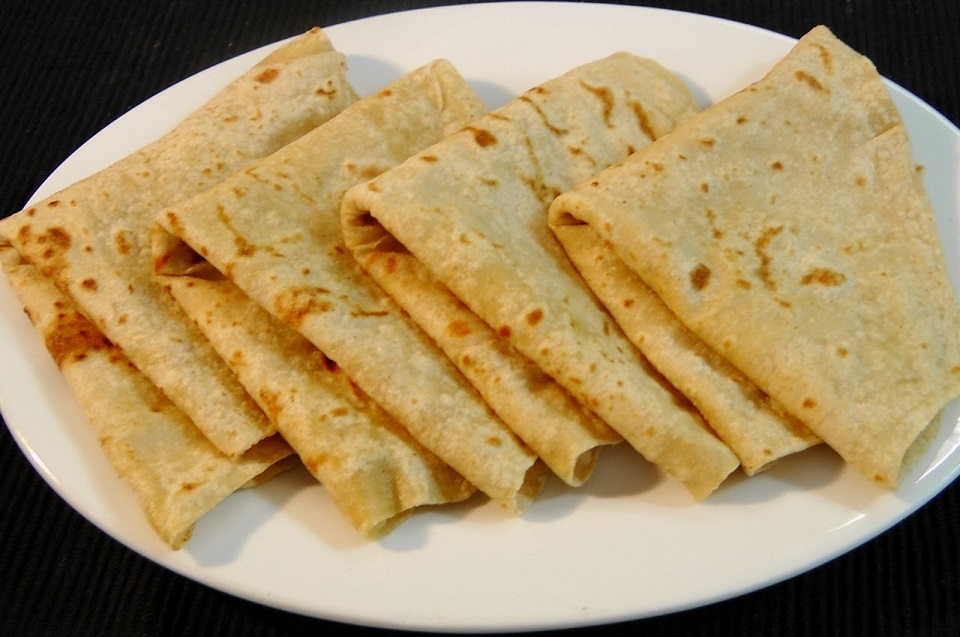 Bored of wheat flour Chapattis?