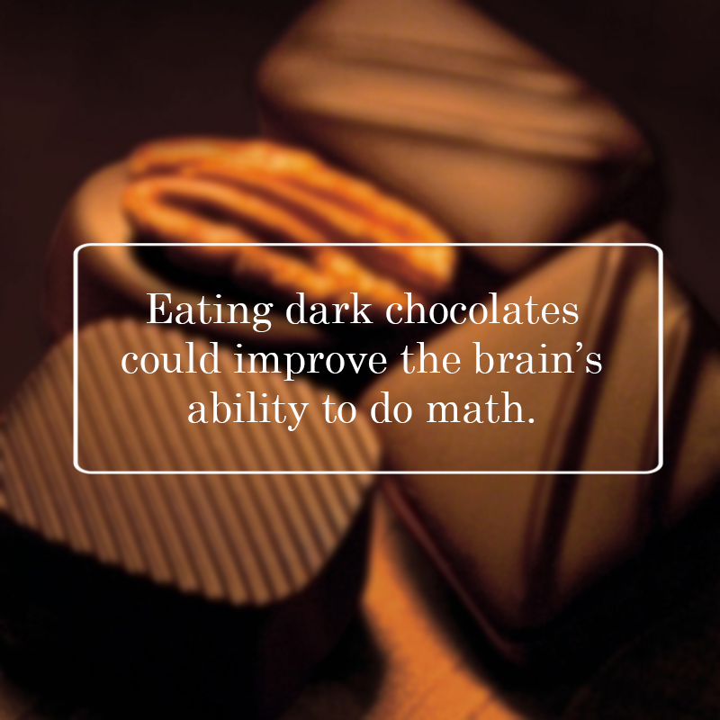 Chocolate: Good for the Mind