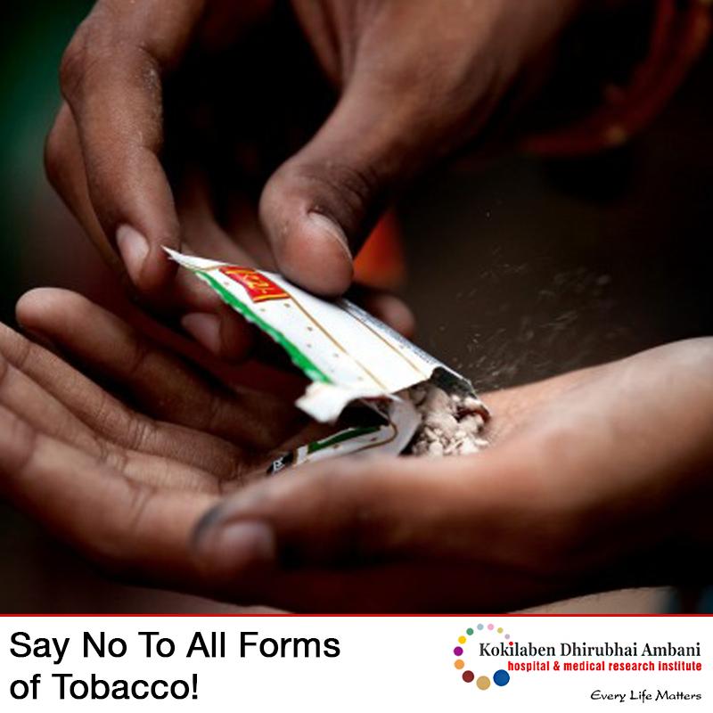 Tobacco-free Maharashtra!