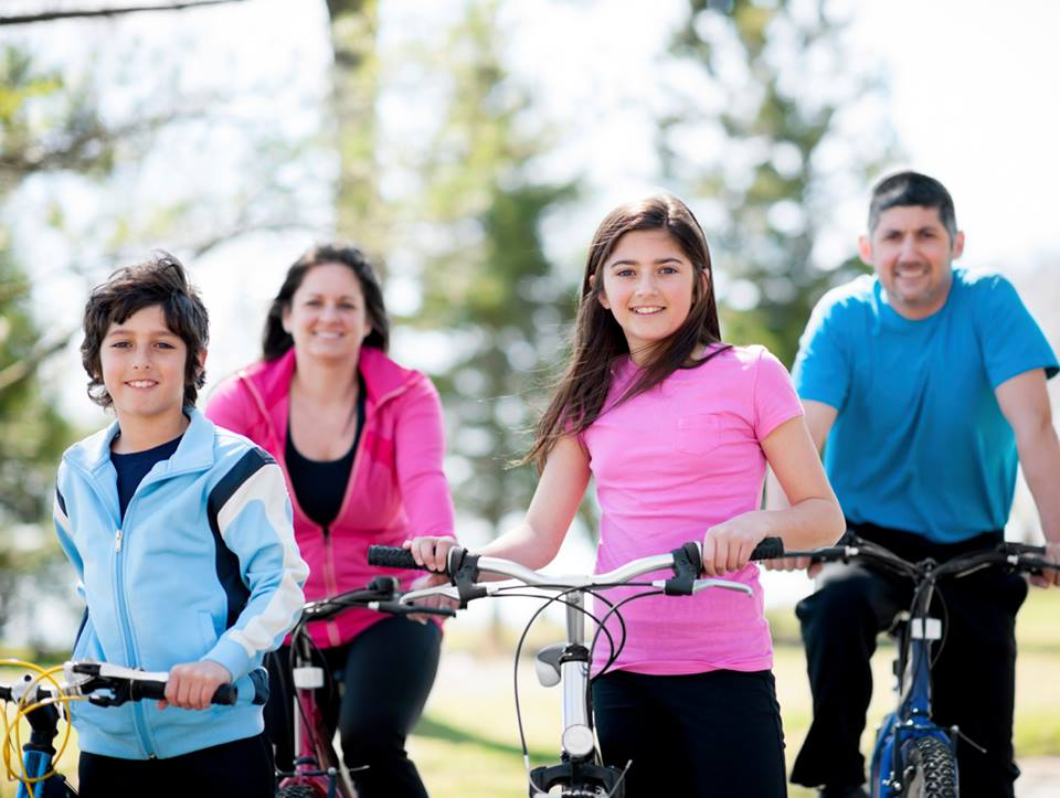 Cycling for Fitness & Health!