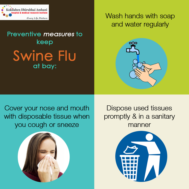 Preventive measures to keep Swine Flu at bay