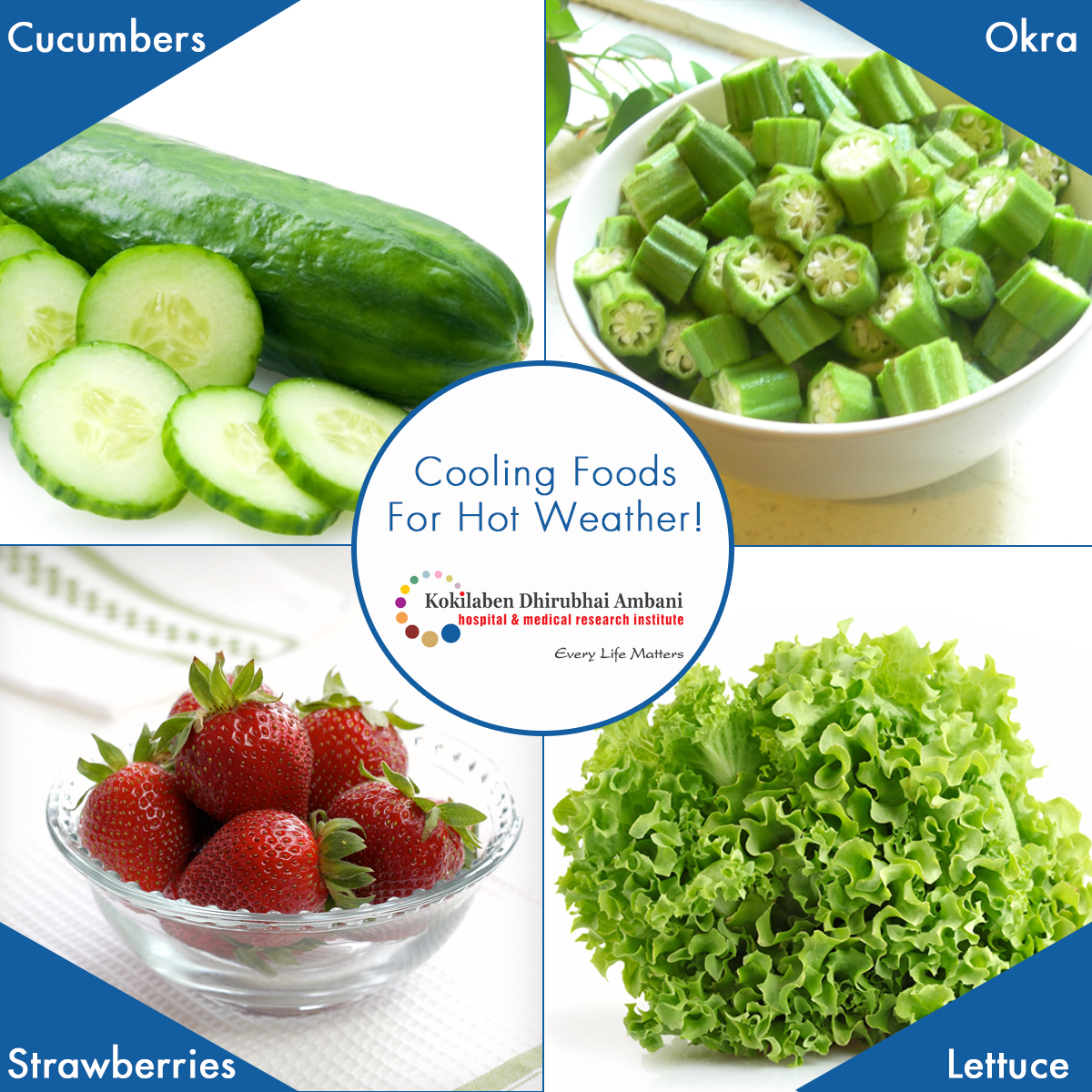 Cooling foods for hot weather!