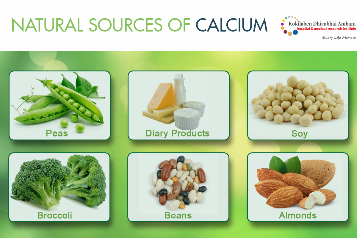 Natural sources of calcium
