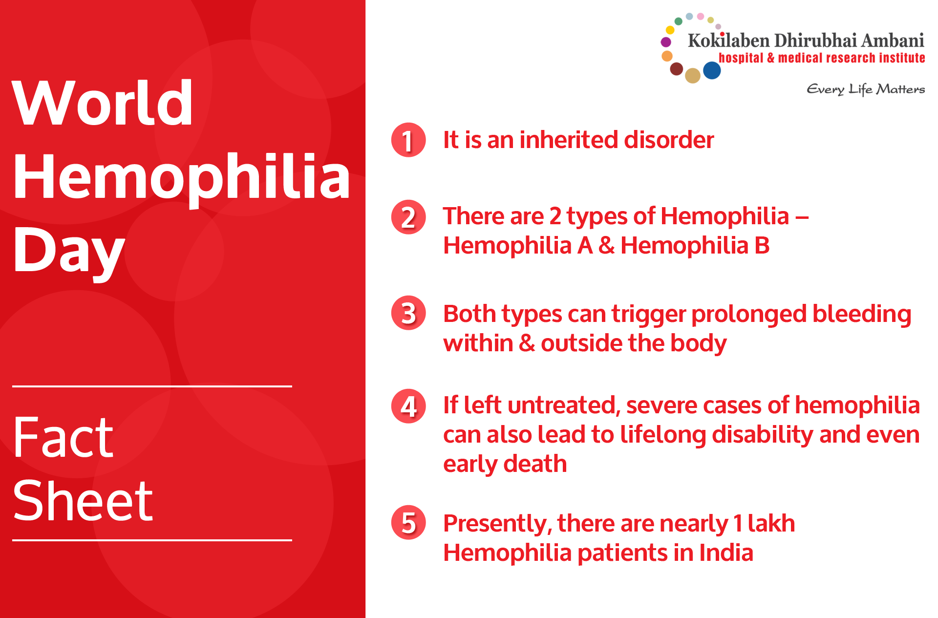 World Hemophilia Day‬