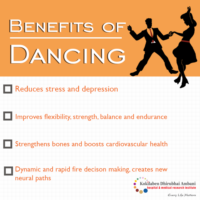 Is dancing your favorite pass-time?