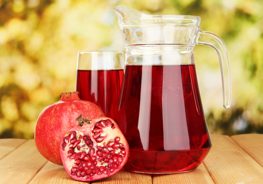 Pomegranate Juice – The best natural post workout drink!