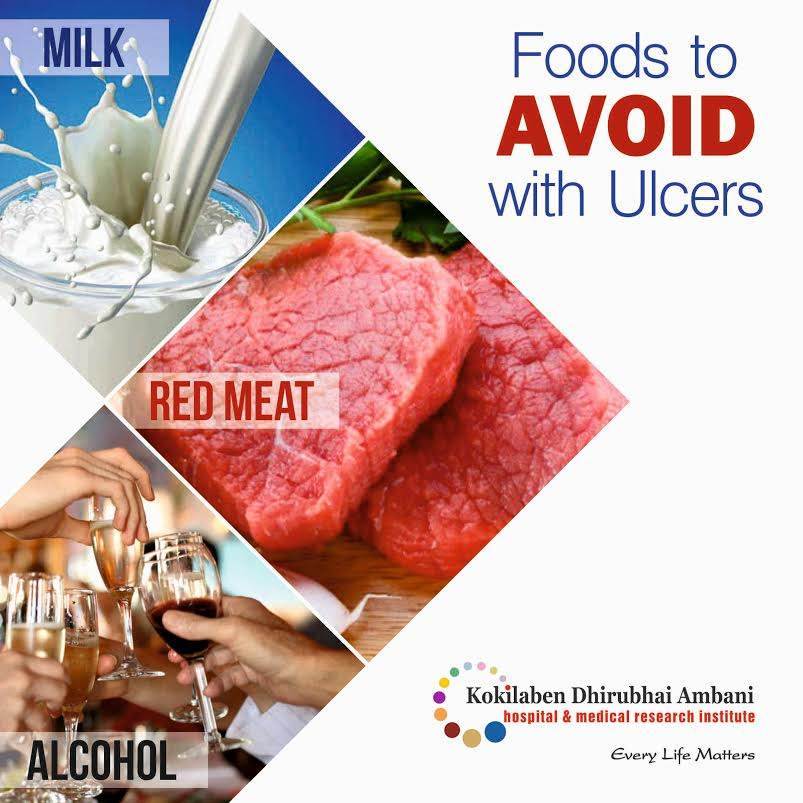 Foods to avoid with ulcers