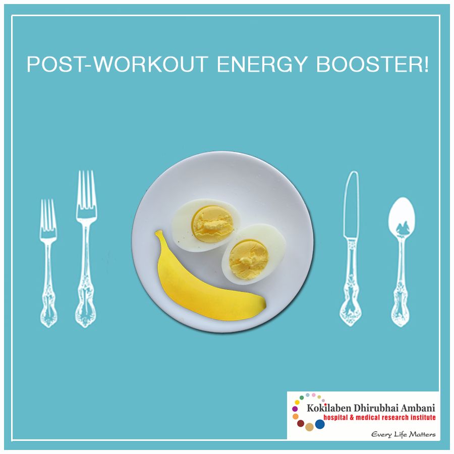 A natural energy booster to kill post workout exhaustion!