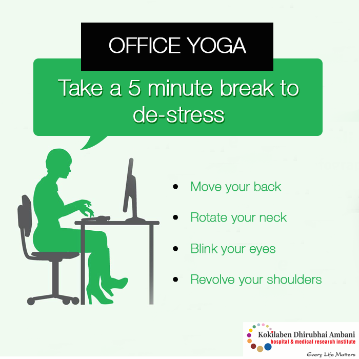 Yoga for the Office: Practice While You're at Work