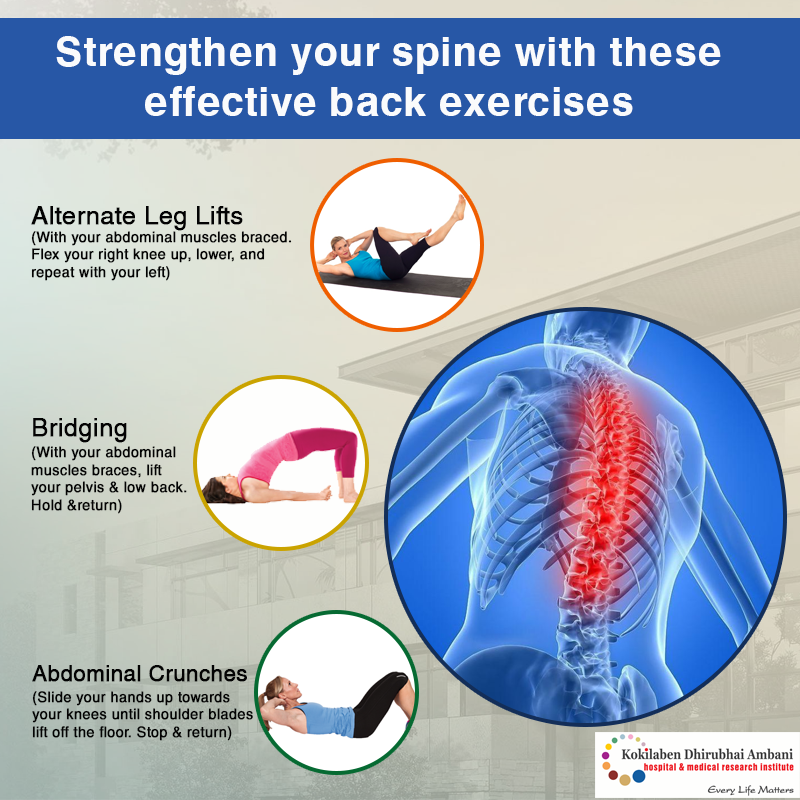 Strengthen your spine with these effective back exercises