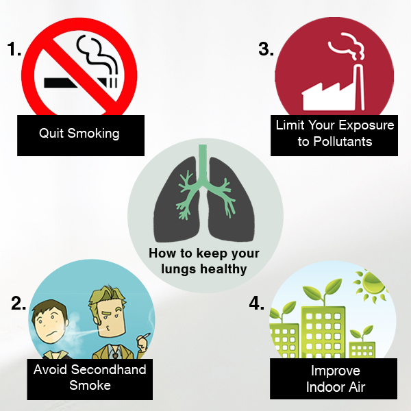 How to keep your lungs healthy?