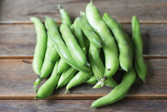 Broad beans nutritional value