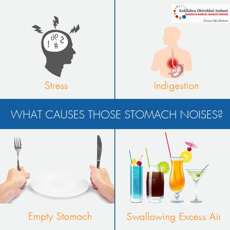 Here's why you may be having a Noisy Tummy: