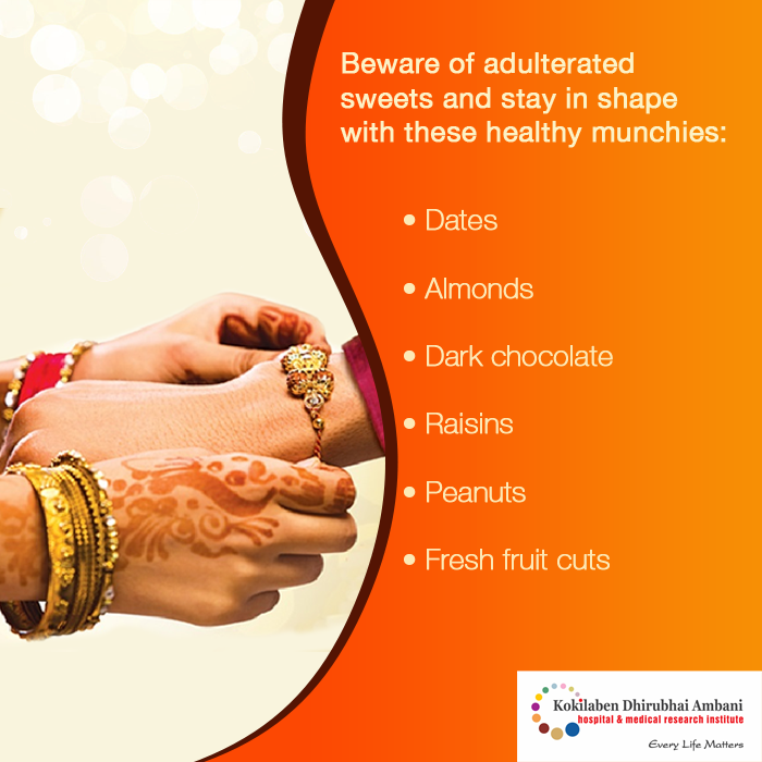 Beware of adulterated sweets and stay in shape with these healthy munchies: