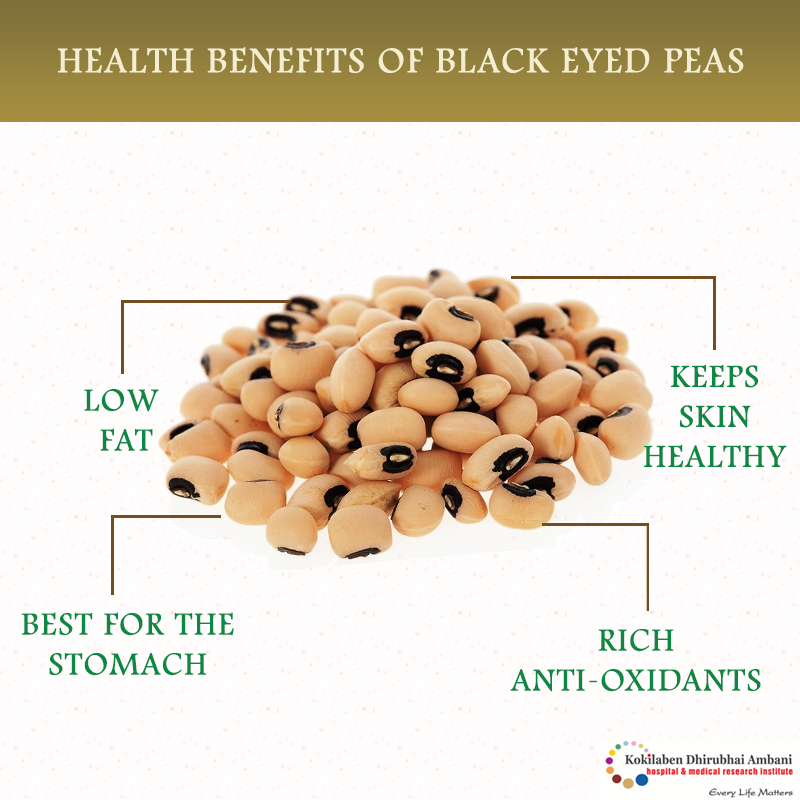 Health Benefits of Black eyed peas