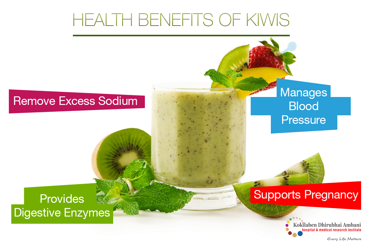 Here's why Kiwi fruits are regarded as amongst the world's healthiest fruits: