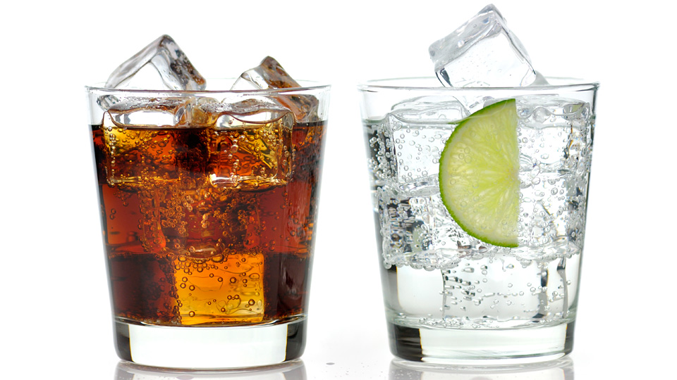 Carbonated drinks increase the risk of heart attack