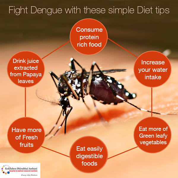 Fight Dengue with these simple diet tips